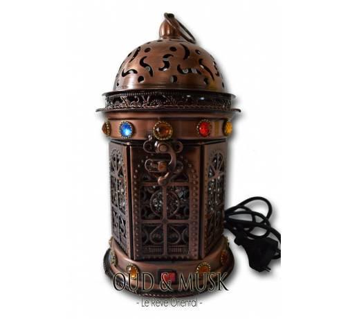 Encensoir électrique lanterne - divers couleurs