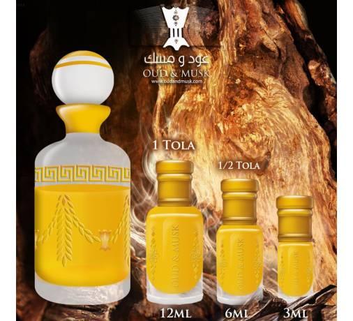 Black oudh huile de parfum huile parfumée